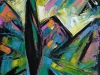 CRNO SUNCE-70x50cm-2014g